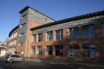 Schulgebäude Eingangsbereich