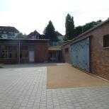 Kletterwand Schulhof Nord