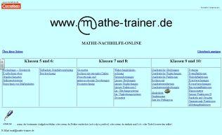 Mathetrainerseite