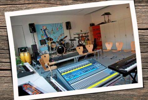 Musikraum der GUTENBERG-Schule