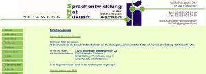 Förderverein für die Sprachheilschulen in der Städteregion Aachen
