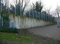 """Die Wand """"vorher""""...."""