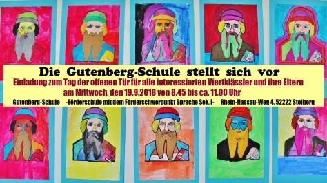 Einladung Hospitationstag Gutenberg-Schule